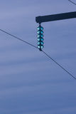 High-Tension power lines Stock Images