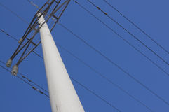 High tension power pylon1 Royalty Free Stock Images