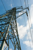 High-tension pylon Royalty Free Stock Image
