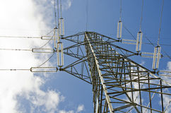 High tension tower Royalty Free Stock Image