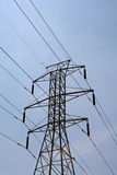 High Tension Wires Stock Photo
