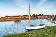 High tide at Blakeney in Norfolk royalty free stock photos