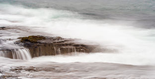 High tide Stock Image