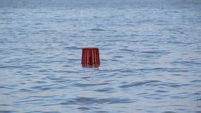 High tide sea levels rising stock video