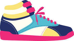High Top Shoes Royalty Free Stock Photos