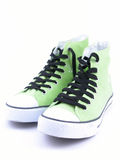 High top sneakers stock photography