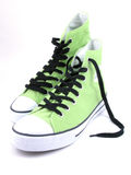 High top sneakers stock photo