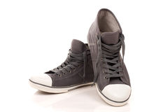 High top sneakers Royalty Free Stock Image