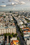 High top view of city buildings in VietNam Stock Photography