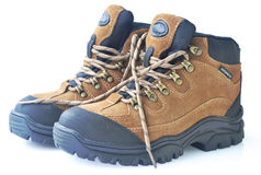 High tops hiking shoes Royalty Free Stock Images