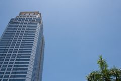 High tower in sunny day Royalty Free Stock Photography