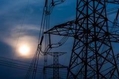 High transmission sunset Stock Image