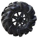 High tread wheel for quad bike royalty free stock image