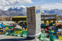 High up in the mountains, Tibet Stock Image