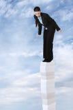 High upp in i skyen Fotografering för Bildbyråer