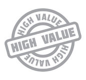 High Value rubber stamp Stock Photography