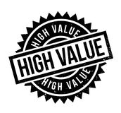 High Value rubber stamp Stock Photos