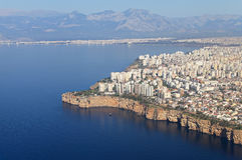 High view on Antalya Royalty Free Stock Photo