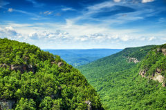 High view of Cloudland Canyon State Park Stock Photos