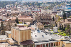 High View Of Cluj Napoca City Royalty Free Stock Image