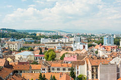 High View Of Cluj Napoca City Royalty Free Stock Photography