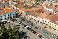 High View Of Cluj Napoca City Stock Photography