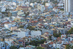 High view in Ho Chi Minh city Stock Photos