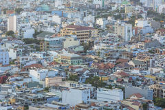 High view in Ho Chi Minh city Royalty Free Stock Photos