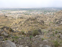 High view of Juba, South Sudan Stock Images