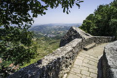 High view from San Marino Royalty Free Stock Photos