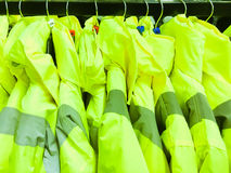 High visibility jackets Stock Photo
