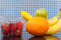 High in Vitamin Fruits Stock Image
