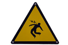 High voltage! Royalty Free Stock Photo