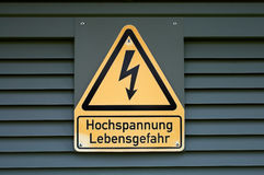 High Voltage Stock Photos