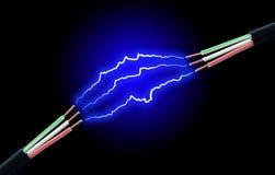 High voltage. Stock Photo