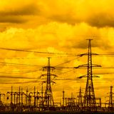 High voltage. See more similar images in my portfolio Royalty Free Stock Images