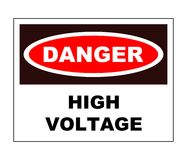 High voltage Stock Photography