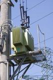 High voltage. Transformator Stock Photos