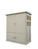 High voltage cabinet gray Royalty Free Stock Photos