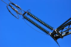 High voltage cable Royalty Free Stock Images