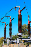 High voltage circuit breaker Stock Photography