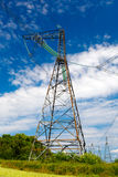 High-voltage columns Royalty Free Stock Photography