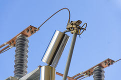 High Voltage Components. For electrical instalations Stock Photo