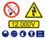 High voltage danger Royalty Free Stock Photo