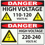 High voltage Danger Stock Photos
