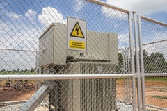 High-voltage device Royalty Free Stock Photography