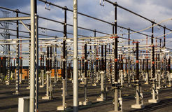 High voltage distribution plant Stock Photography