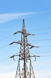 High voltage electric line Stock Image