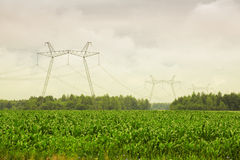 High-voltage Electric main Stock Photography