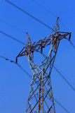 High voltage electric pillar. In Thailand Stock Photography